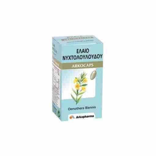 Arkocaps Evening Primrose Oil-Νυχτολούλουδο 60 caps, εμμηνόπαυση, ω-3, φυτοθεραπεία, γυναίκα, συμπλήρωμα διατροφής, ομορφιά, βότανα, online φαρμακείο