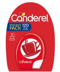 CANDEREL Classic Pocket Γλυκαντικό 120tabs, ζαχαρίνη, υποκατάστατο ζάχαρης, διαβήτης, αδυνάτισμα, δίαιτα, φαρμακείο