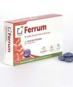 Saludbox Ferrum 30 μασώμενες ταμπλέτες, σίδηρος, Β-12, φυλλικό, έλλειψη, συμπλήρωμα, φαρμακείο