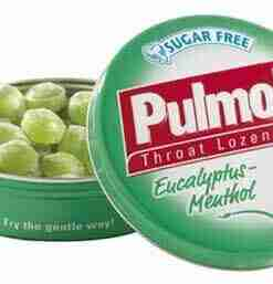 Pulmoll , καραμέλες, πονόλαιμος, ευκάλυπτος, μενθόλη, φαρμακείο