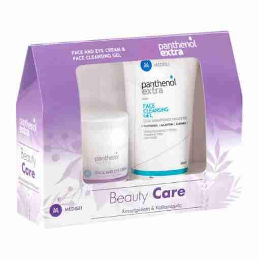 Panthenol Extra Beauty Care Set Αντιγήρανση & Καθαρισμός